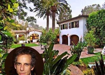 Ben Stiller's beautiful Beverly Hills home