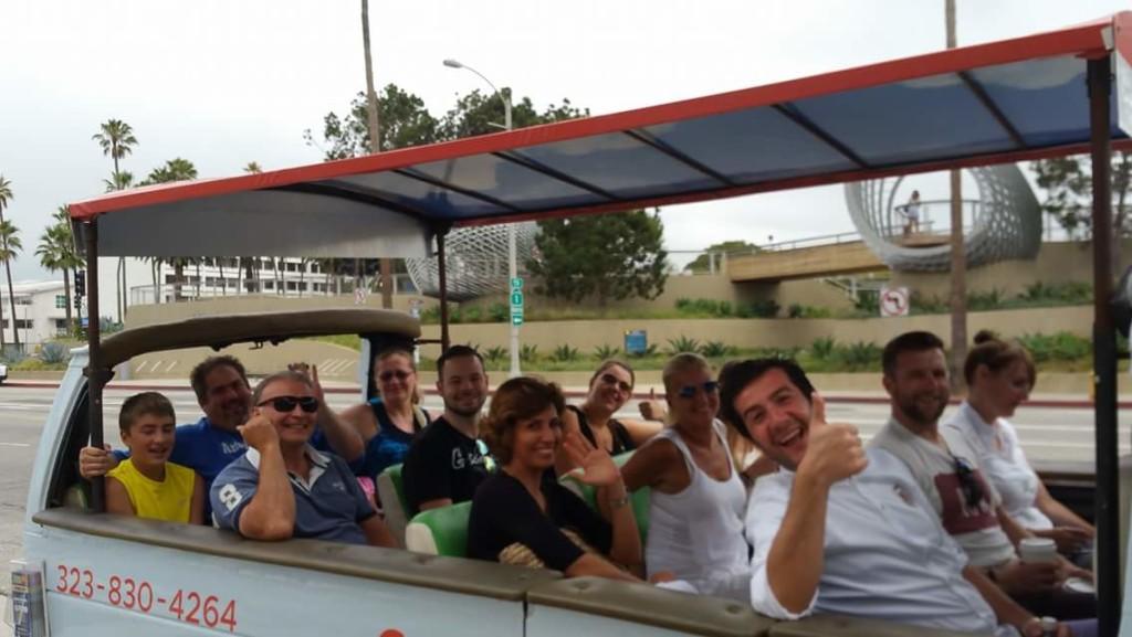 Departing LA City Tour