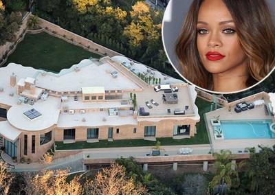 Tour celebrity homes like Rihanna, Ben Stiller, Justin Bieber & Charlie Sheen