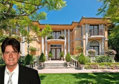 Charlie Sheen's lavish Hollywood mansion