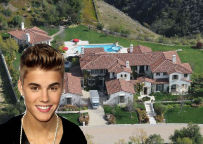 See Justin Bieber's glass house in Hollywood