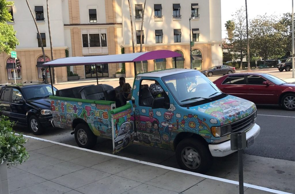 COVID-Safe Vehicle Rentals for Film Production: Surf City Tours in the Movies At Last!
