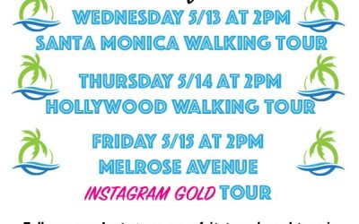 Virtual Tour Schedule 5/13, 5/14, 5/15